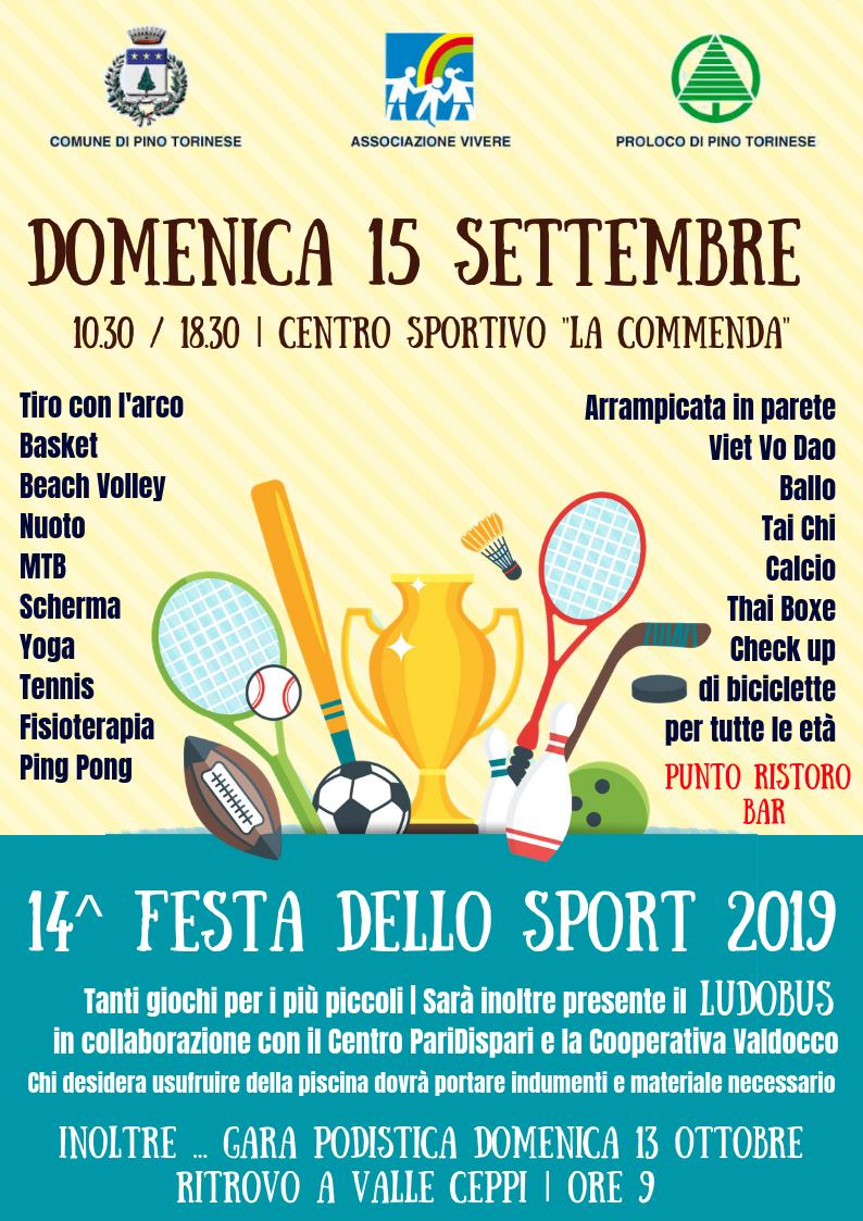 Festa dello Sport 2018